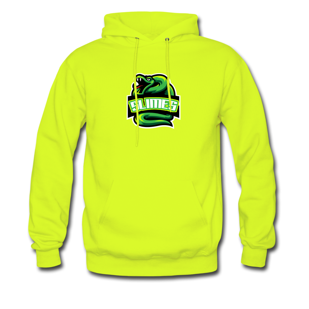 Load image into Gallery viewer, Mike Slime Hoodie - safety green