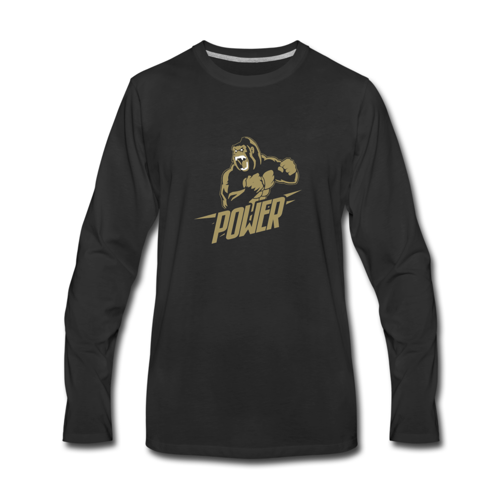 Load image into Gallery viewer, Poloboy Gorilla Long Sleeve - black