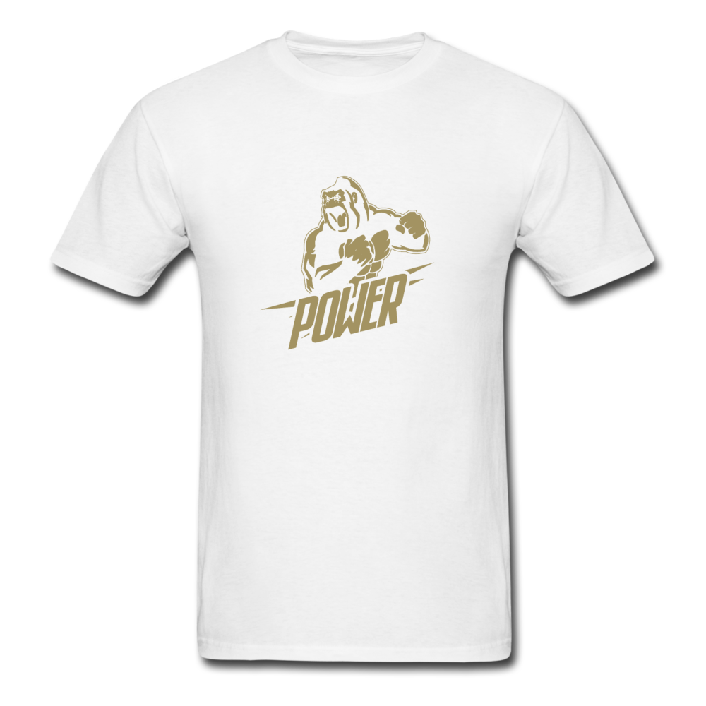 Load image into Gallery viewer, Poloboy Gorilla Power Shirt - white
