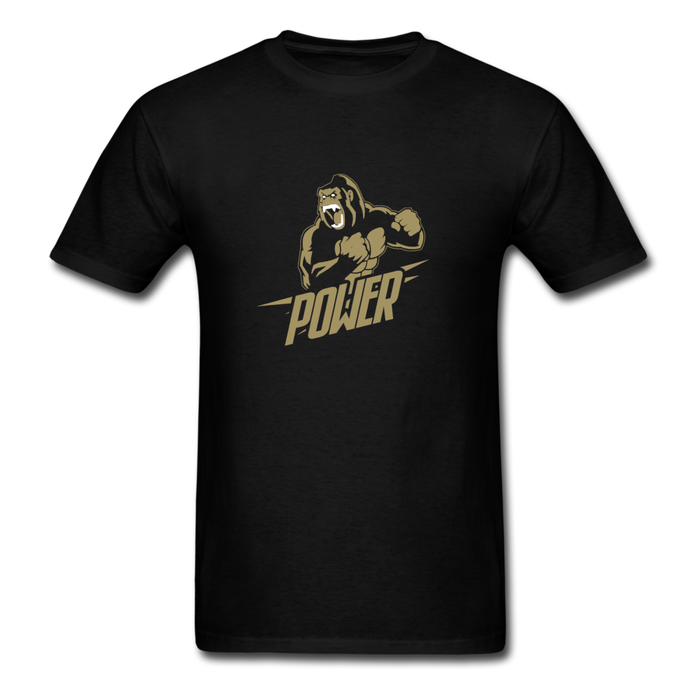 Load image into Gallery viewer, Poloboy Gorilla Power Shirt - black
