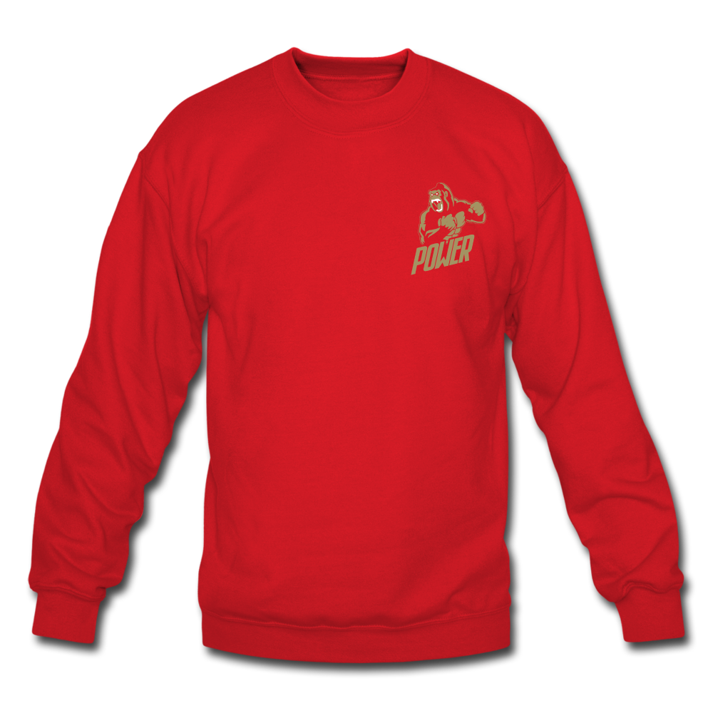 Load image into Gallery viewer, Poloboy Gorilla Sweatshirt - red