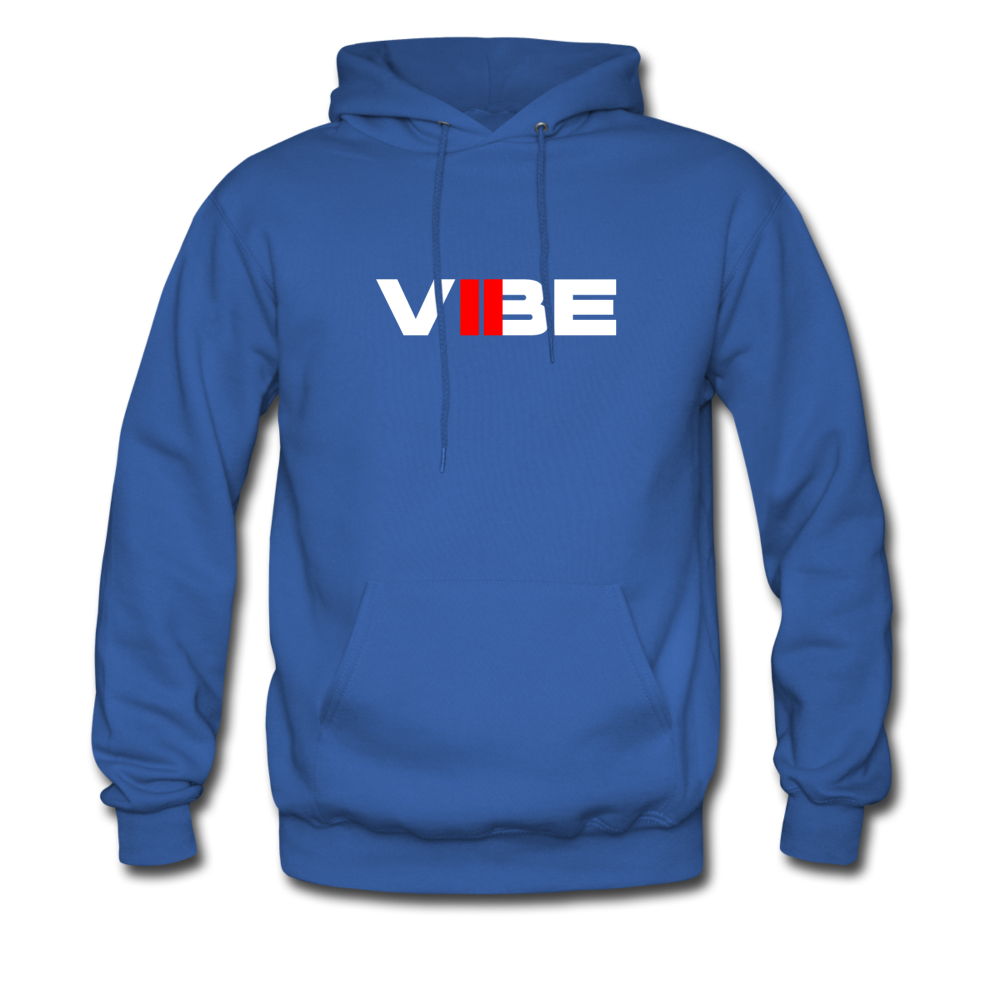 "Load image into Gallery viewer, Elias ""VIBE"" Hoodie - royal blue"
