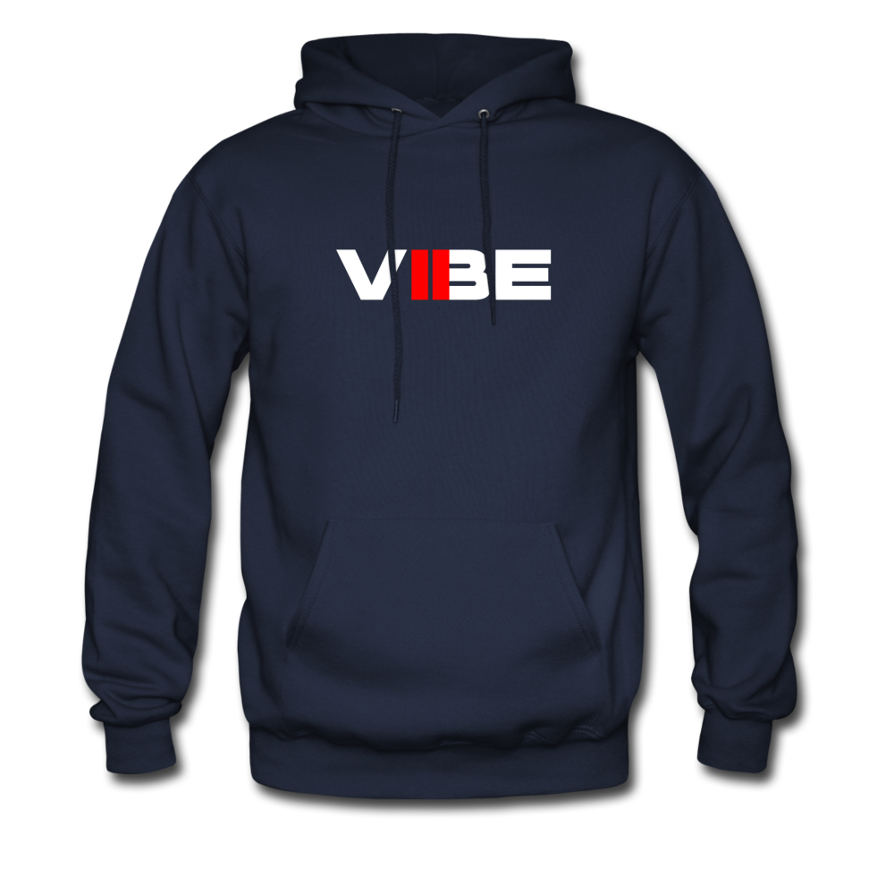 "Load image into Gallery viewer, Elias ""VIBE"" Hoodie - navy"