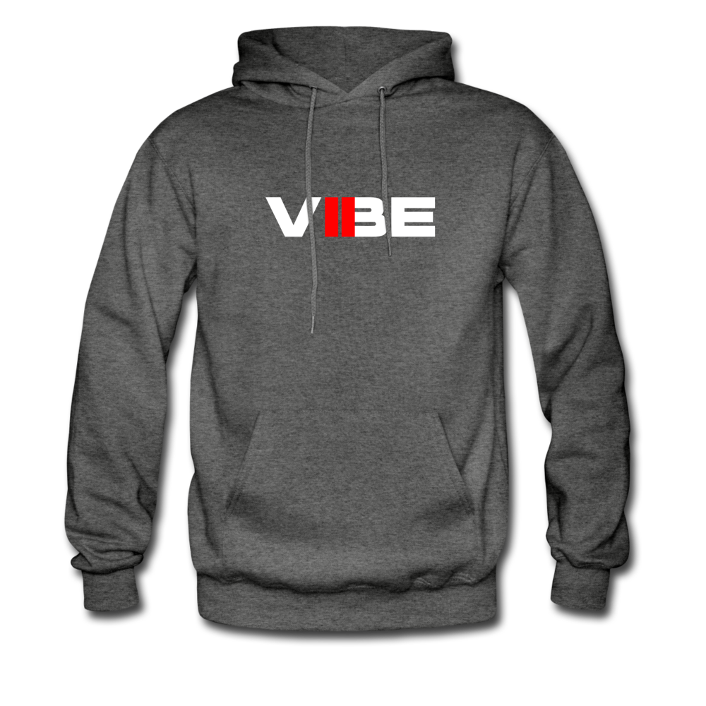 "Load image into Gallery viewer, Elias ""VIBE"" Hoodie - charcoal gray"