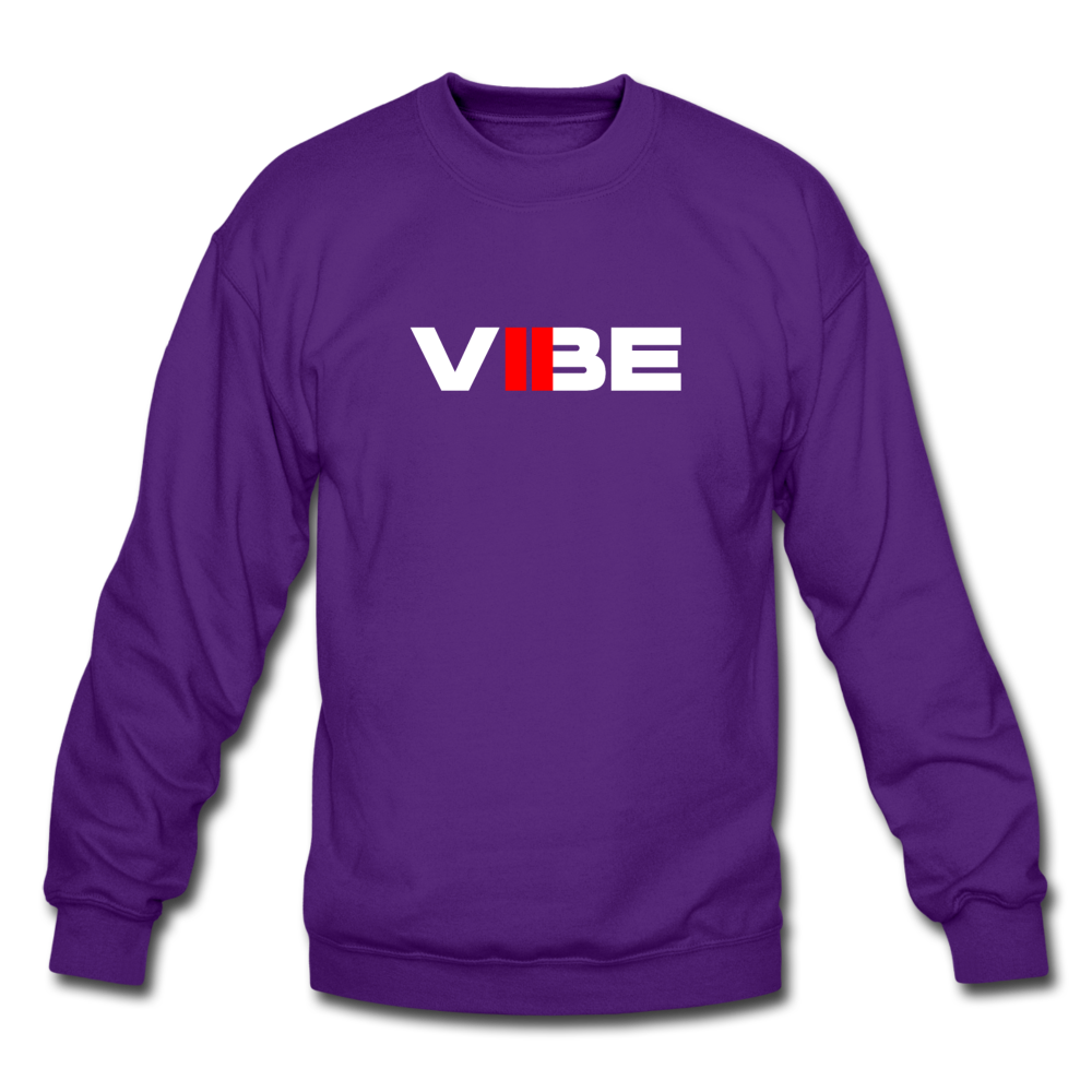 "Load image into Gallery viewer, Elias ""VIBE"" Sweatshirt - purple"