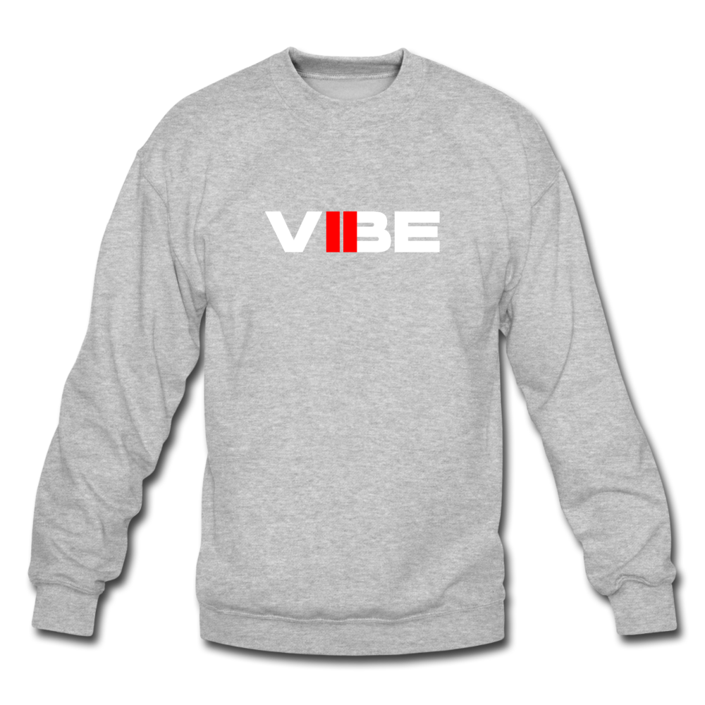 "Load image into Gallery viewer, Elias ""VIBE"" Sweatshirt - heather gray"