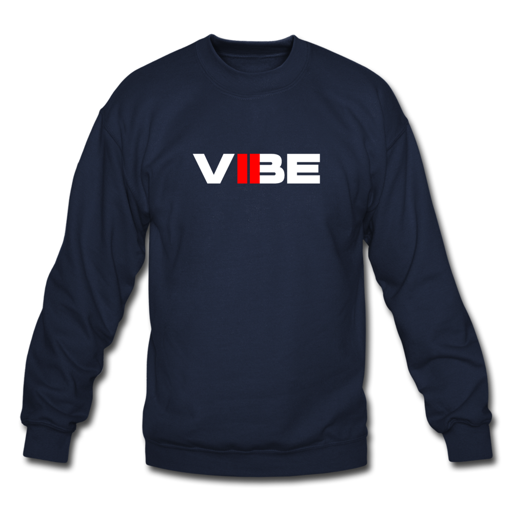 "Load image into Gallery viewer, Elias ""VIBE"" Sweatshirt - navy"