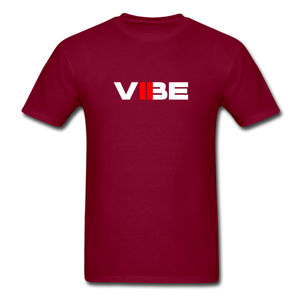 "Load image into Gallery viewer, Elias ""VIBE"" Shirt - burgundy"