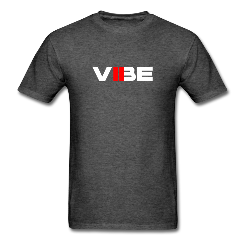 "Load image into Gallery viewer, Elias ""VIBE"" Shirt - heather black"