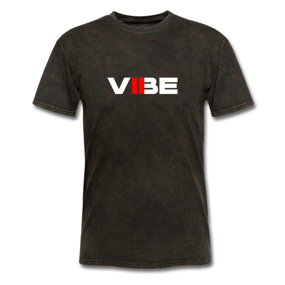 "Load image into Gallery viewer, Elias ""VIBE"" Shirt - mineral black"