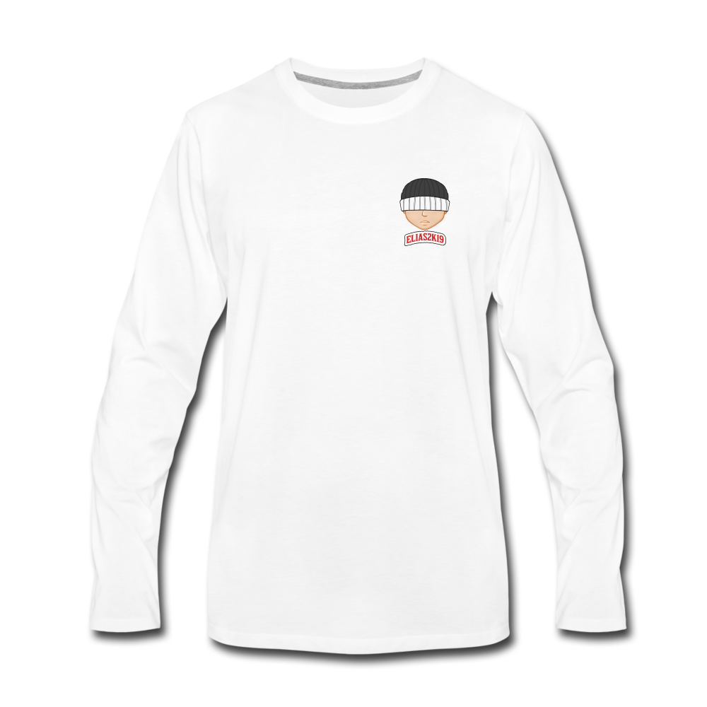 Load image into Gallery viewer, Elias 2K19 Long Sleeve - white
