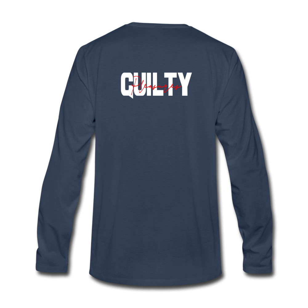 "Load image into Gallery viewer, Mason Patterson ""Guilty Pleasures"" Long Sleeve - navy"