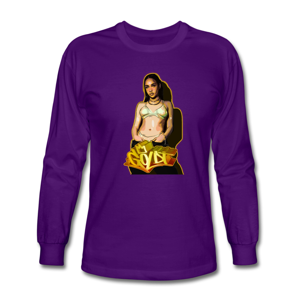 Load image into Gallery viewer, Dre Goldi Long Sleeve - purple