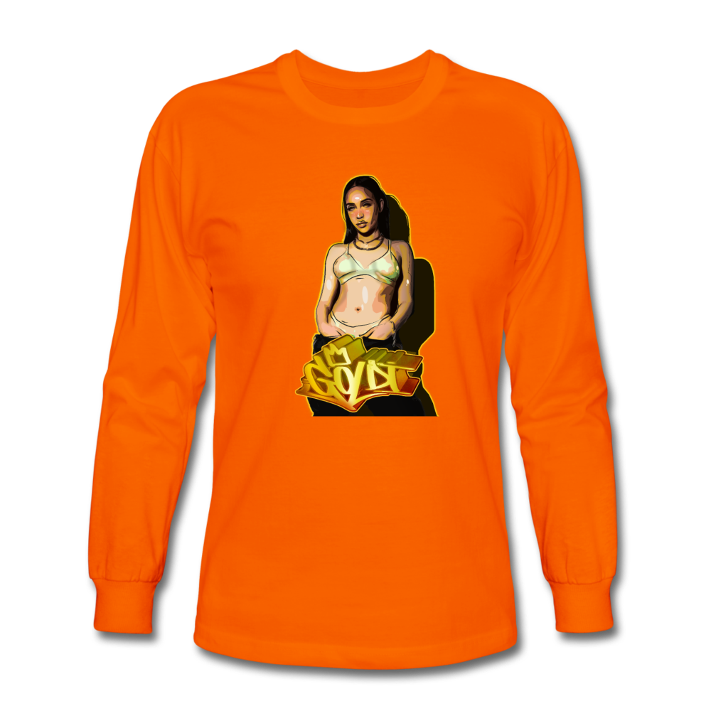 Load image into Gallery viewer, Dre Goldi Long Sleeve - orange