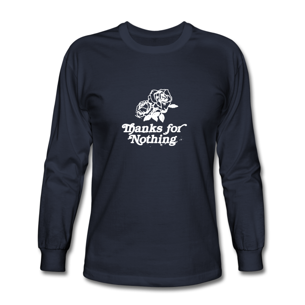 Load image into Gallery viewer, Thanks for Nothing Long Sleeve - navy