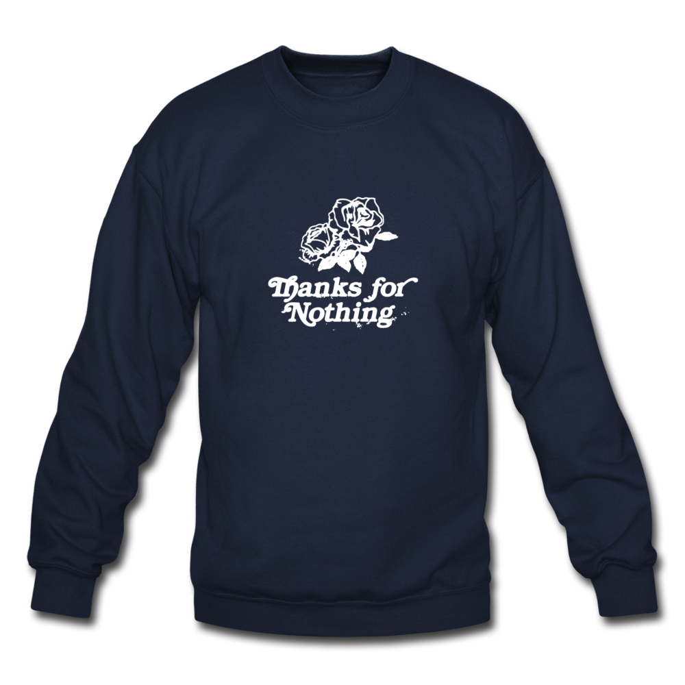 Load image into Gallery viewer, Thanks for Nothing Sweatshirt - navy