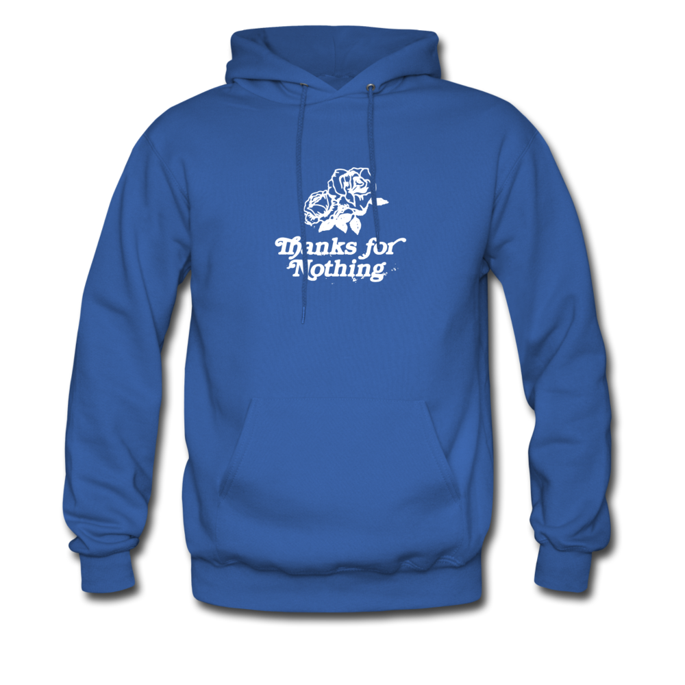 Load image into Gallery viewer, Thanks for Nothing Hoodie - royal blue
