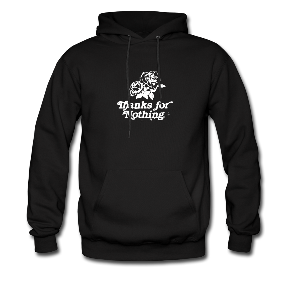 Load image into Gallery viewer, Thanks for Nothing Hoodie - black