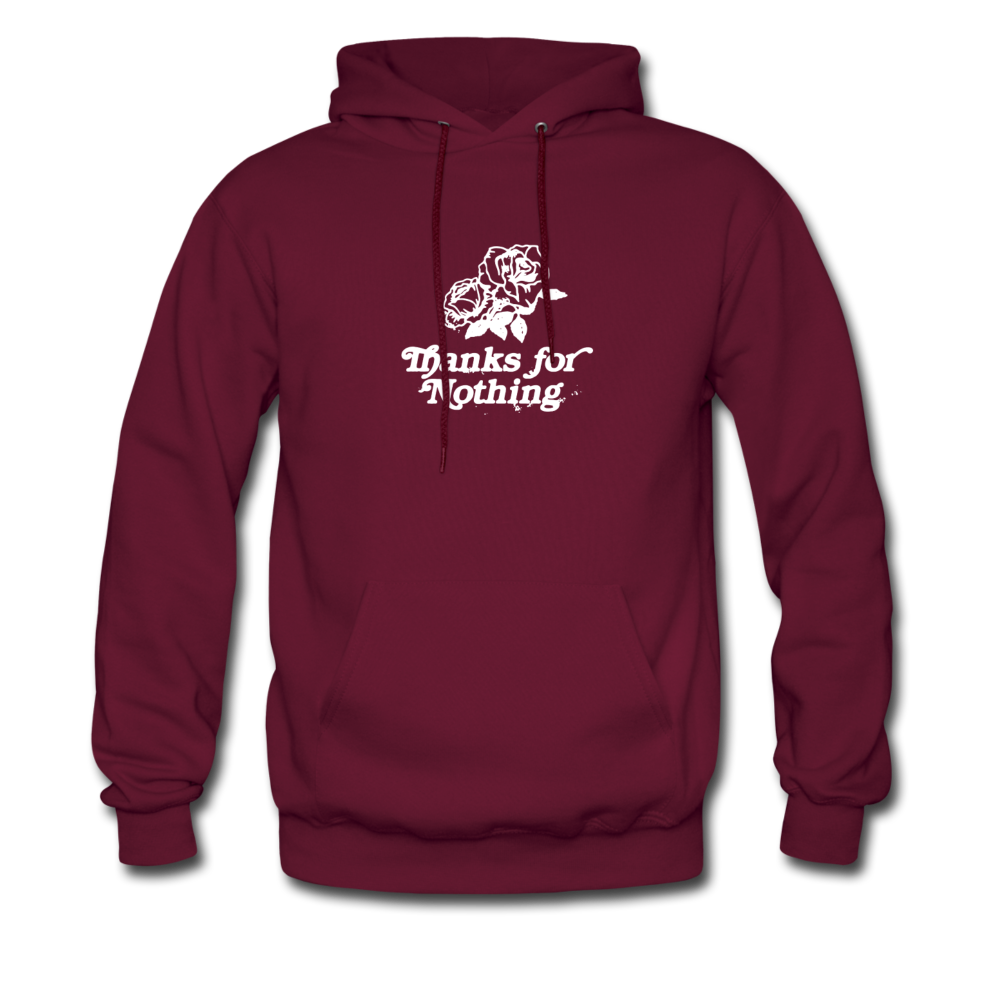 Load image into Gallery viewer, Thanks for Nothing Hoodie - burgundy