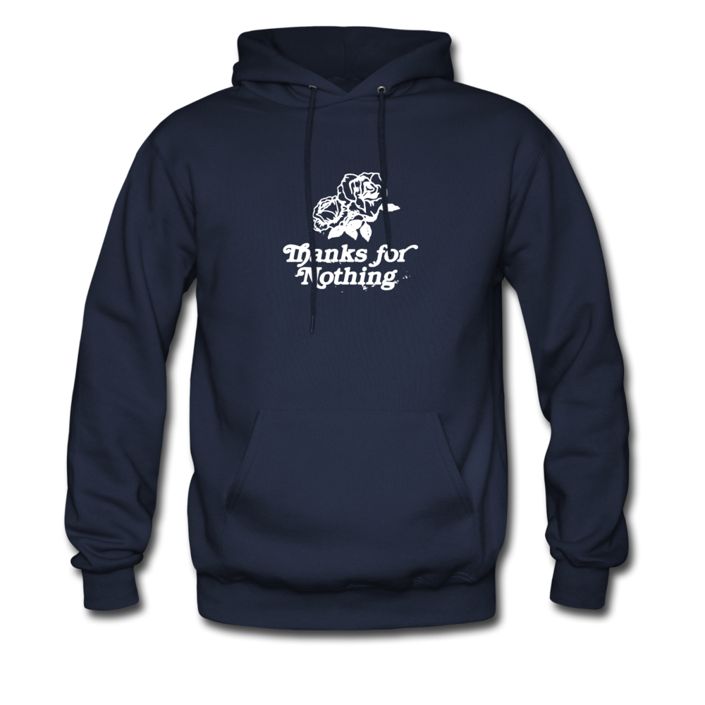 Load image into Gallery viewer, Thanks for Nothing Hoodie - navy