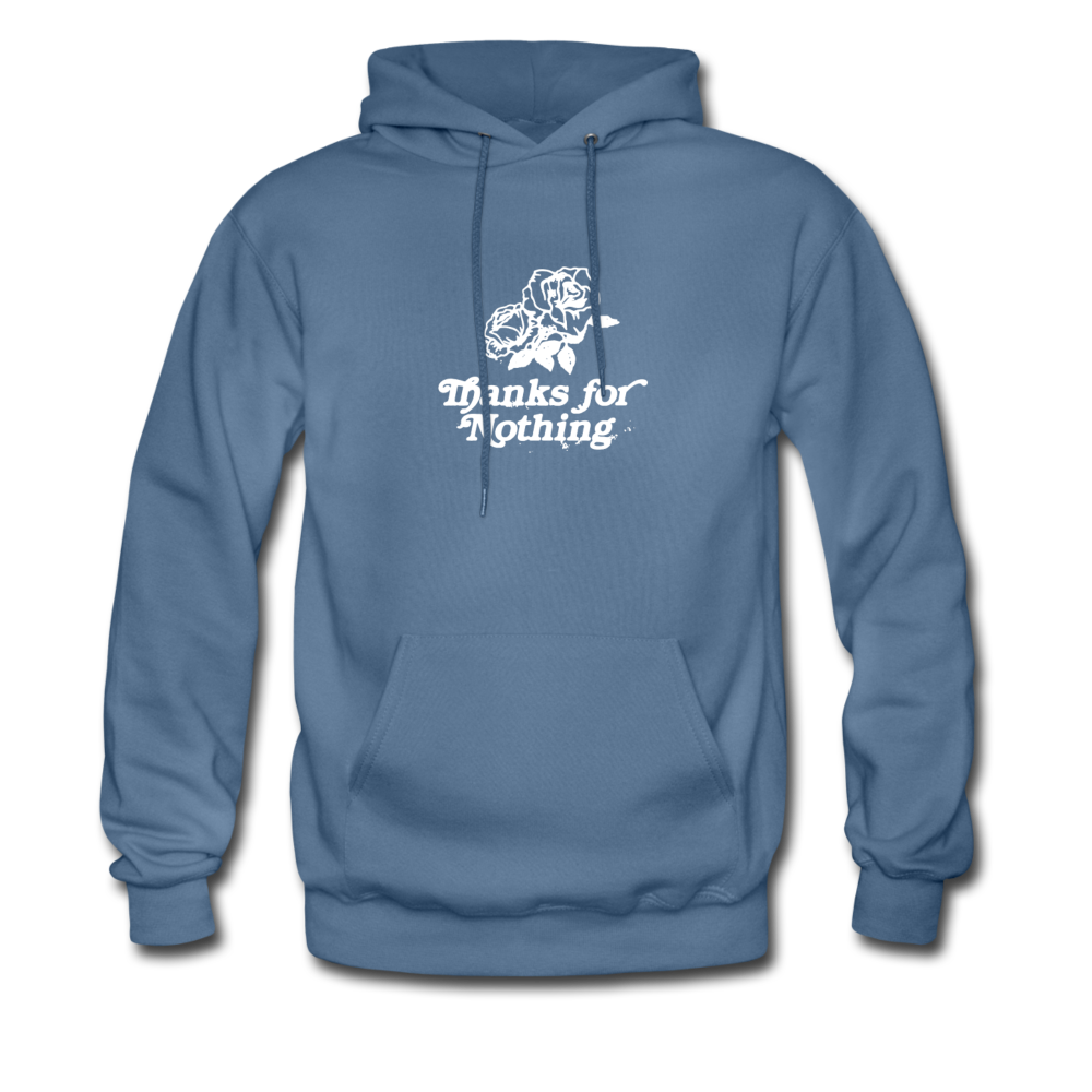Load image into Gallery viewer, Thanks for Nothing Hoodie - denim blue