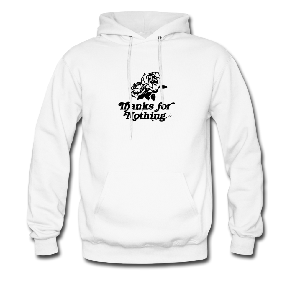 Load image into Gallery viewer, Thanks for Nothing Hoodie - white
