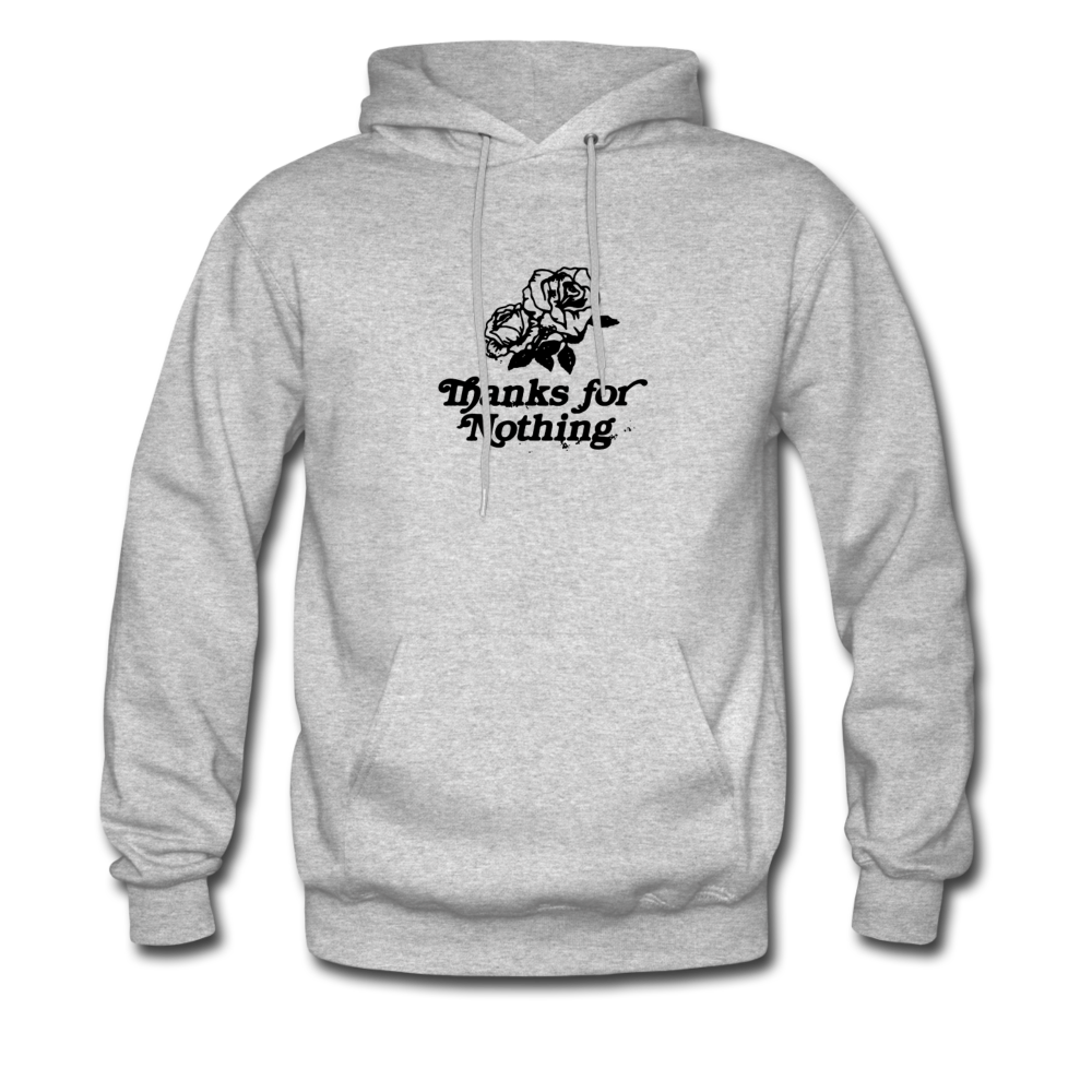 Load image into Gallery viewer, Thanks for Nothing Hoodie - heather gray