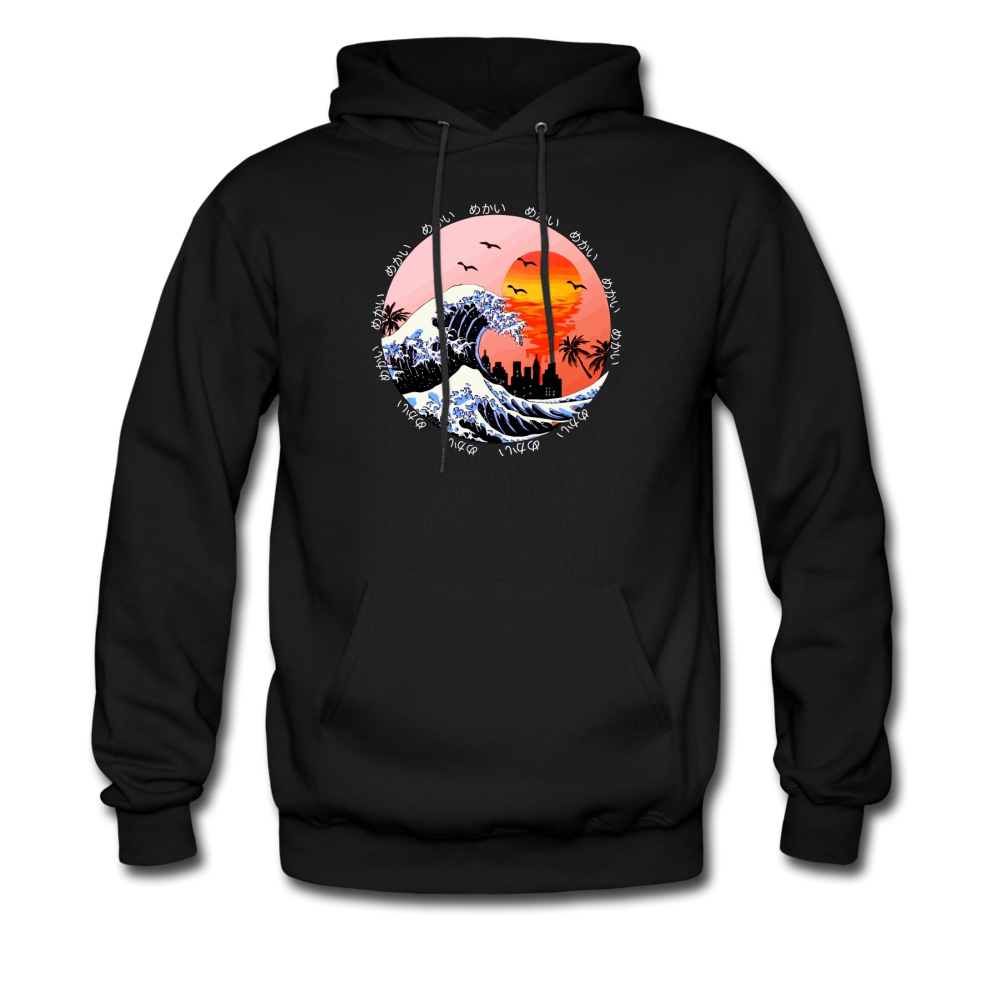 Load image into Gallery viewer, Jalen Mekai Wave Hoodie - black