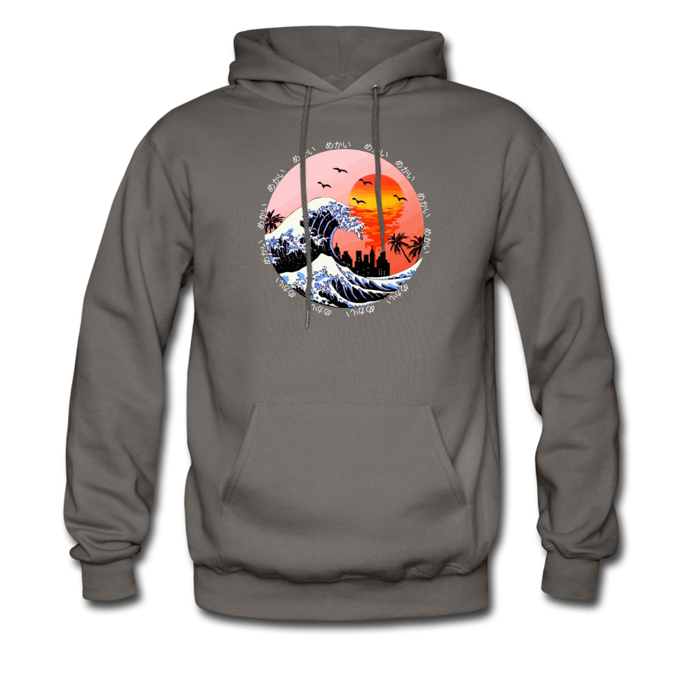 Load image into Gallery viewer, Jalen Mekai Wave Hoodie - asphalt gray