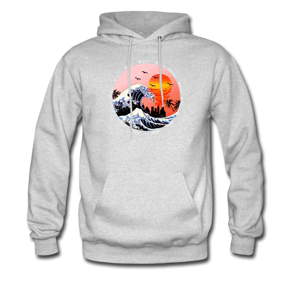 Load image into Gallery viewer, Jalen Mekai Wave Hoodie - ash