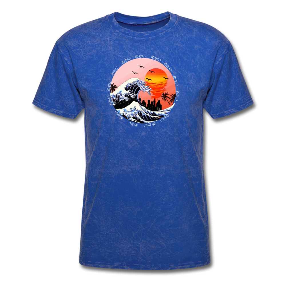Load image into Gallery viewer, Jalen Mekai Wave Tee - mineral royal