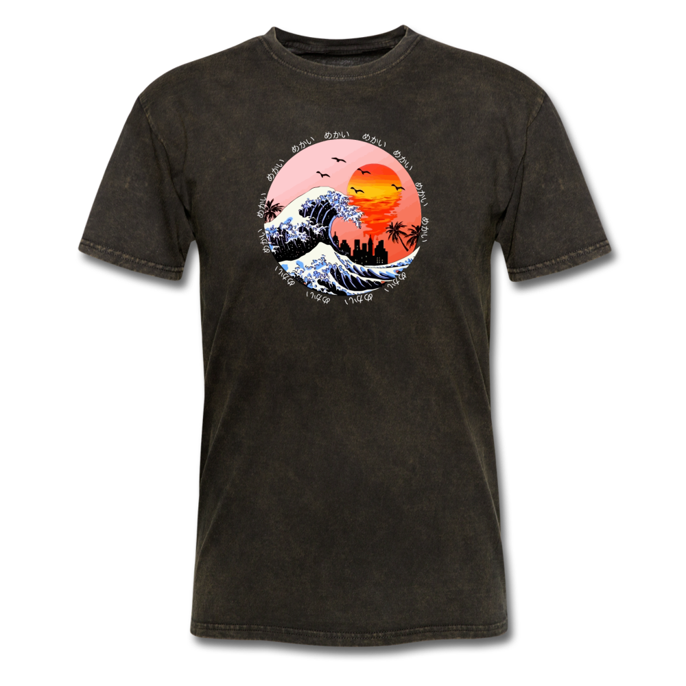 Load image into Gallery viewer, Jalen Mekai Wave Tee - mineral black