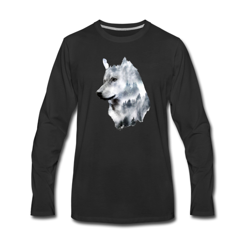 Hannah Pride Wolf Long Sleeve - black