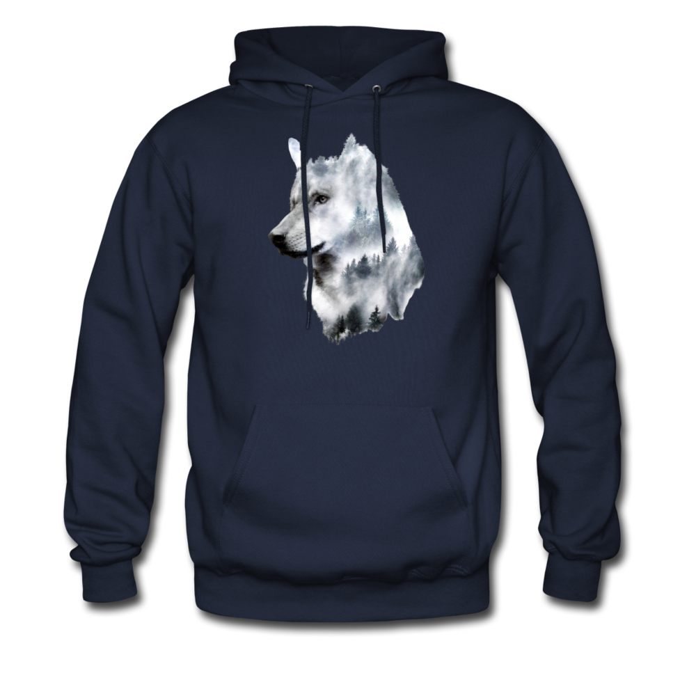 Load image into Gallery viewer, Hannah Pride Wolf Hoodie - navy