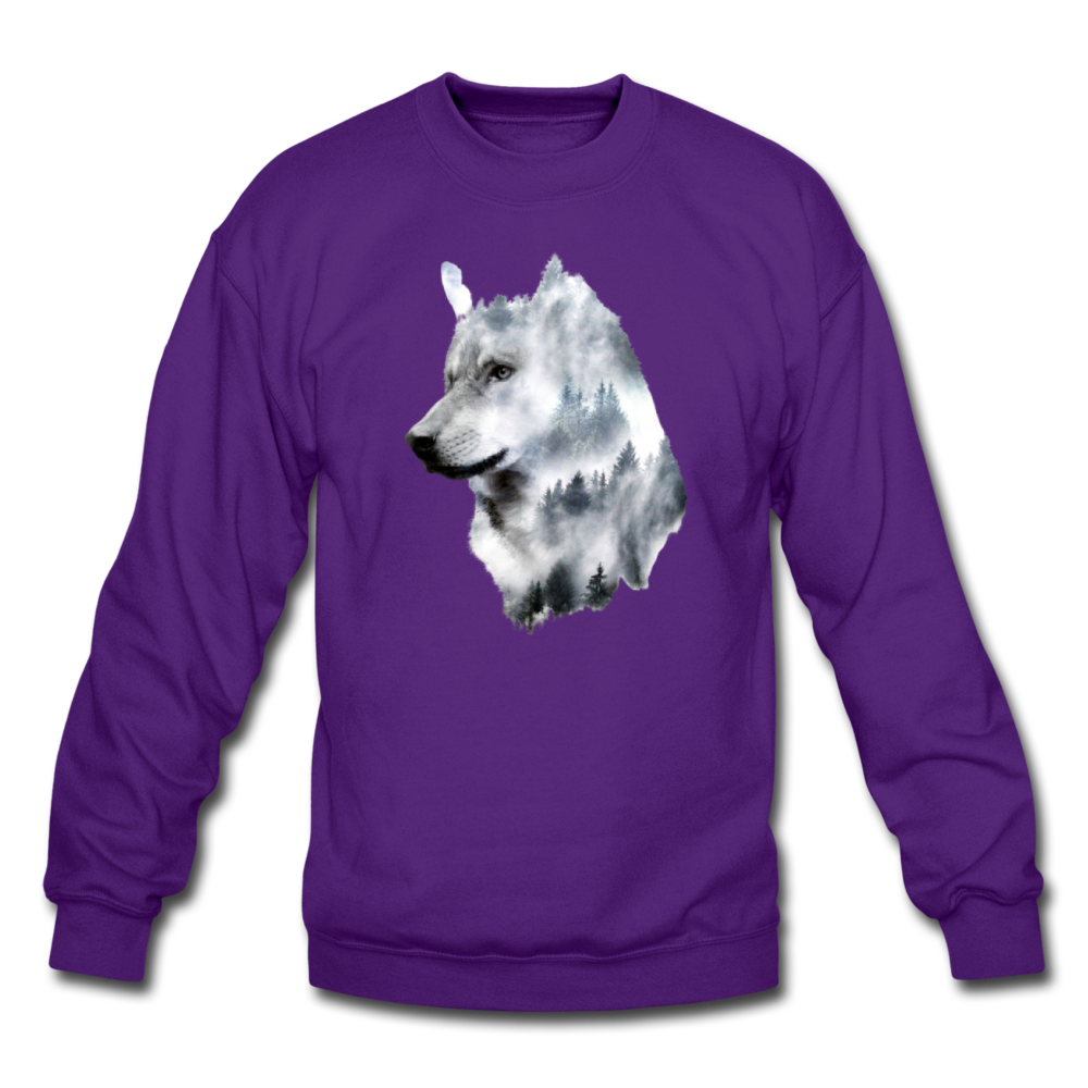 Load image into Gallery viewer, Hannah Pride Wolf Sweatshirt - purple