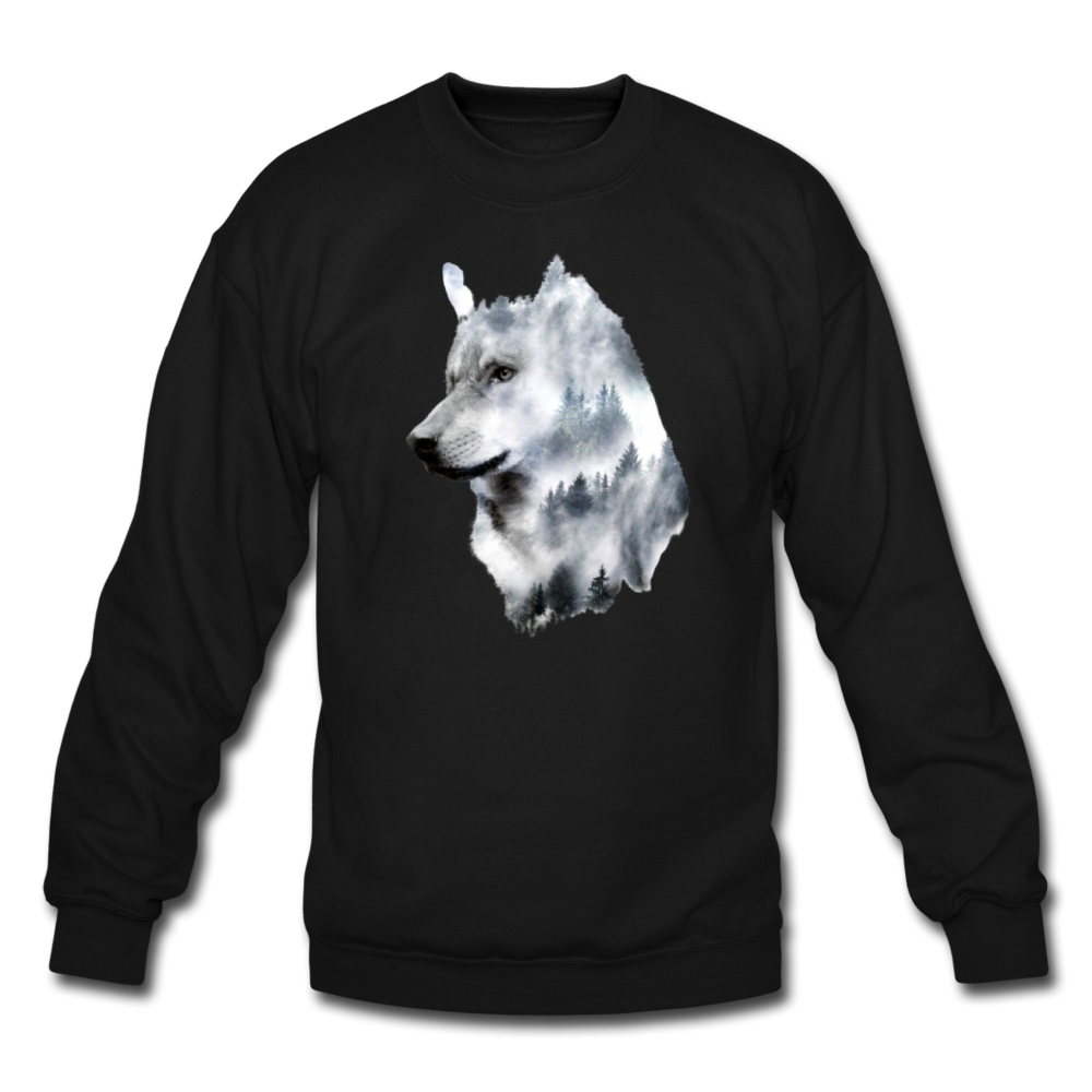 Load image into Gallery viewer, Hannah Pride Wolf Sweatshirt - black