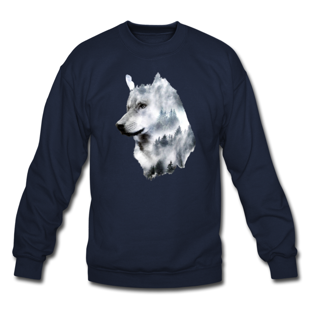 Load image into Gallery viewer, Hannah Pride Wolf Sweatshirt - navy