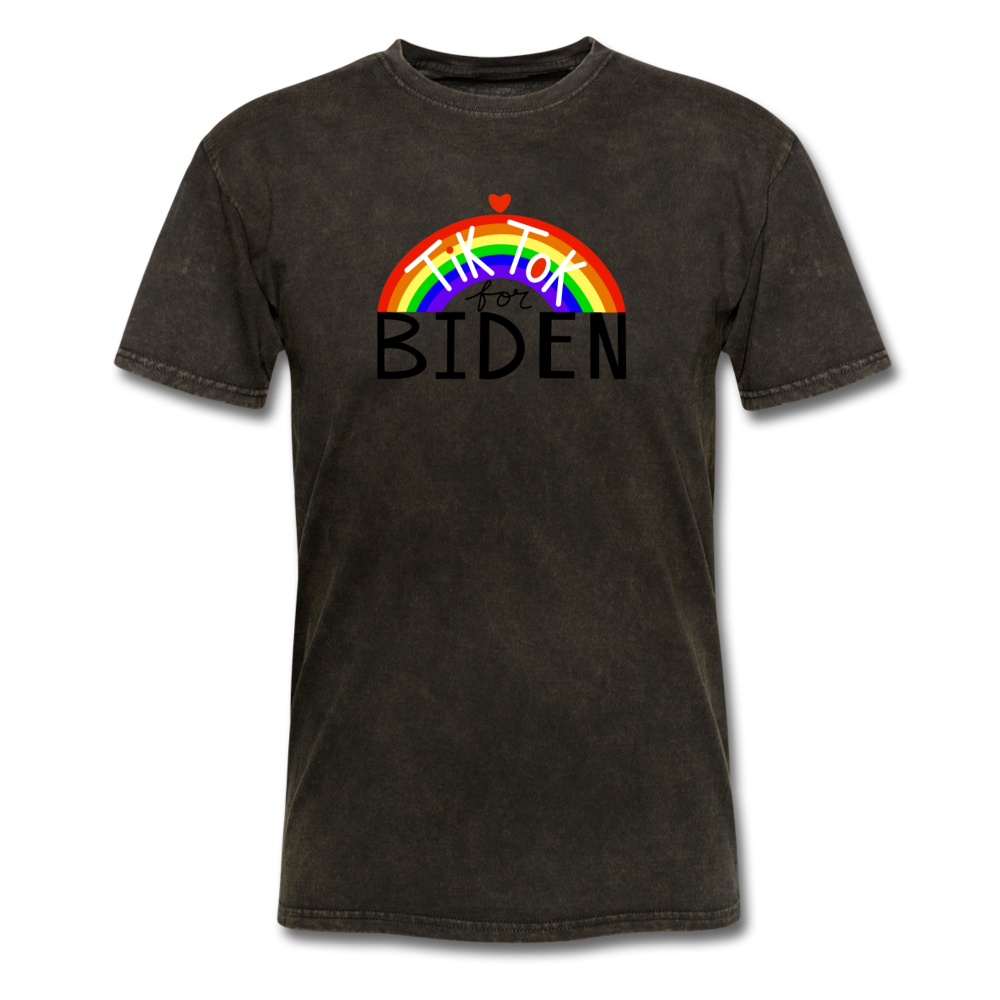 Load image into Gallery viewer, TikTok for Biden (Front/Back) - mineral black