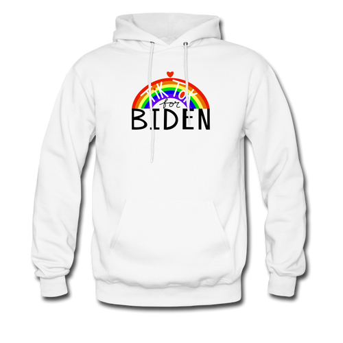TikTok for Biden (Front/Back) - white