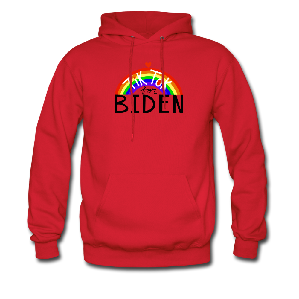 Load image into Gallery viewer, TikTok for Biden (Front/Back) - red