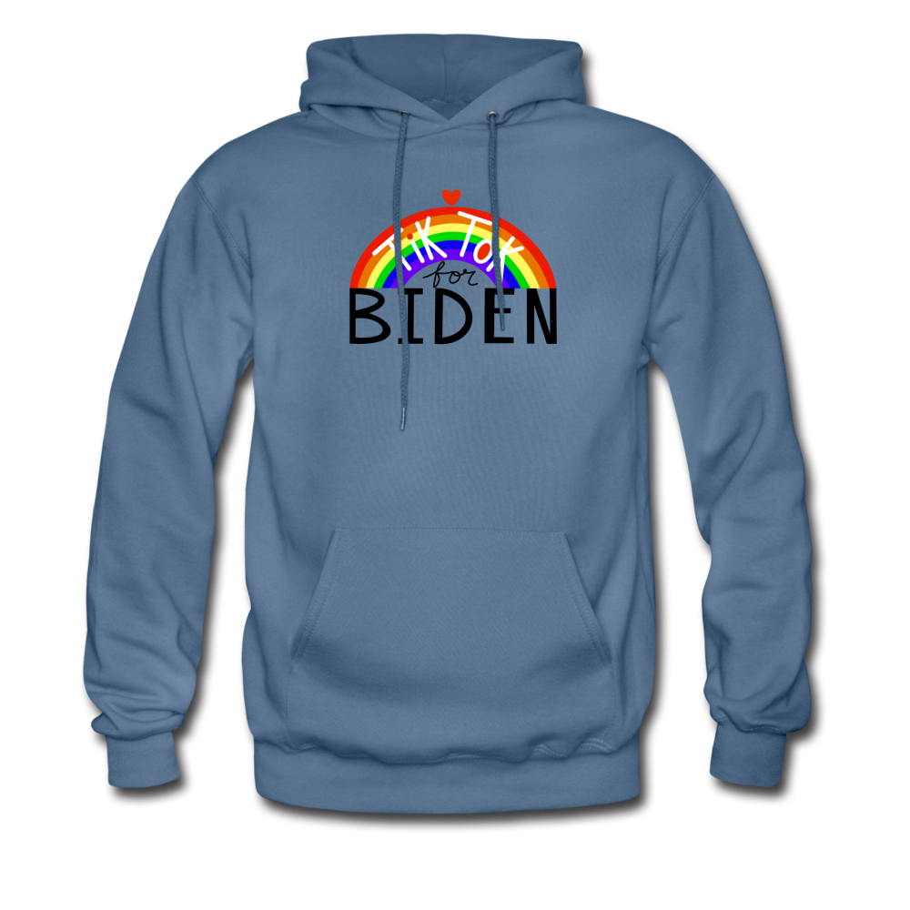 Load image into Gallery viewer, TikTok for Biden (Front/Back) - denim blue
