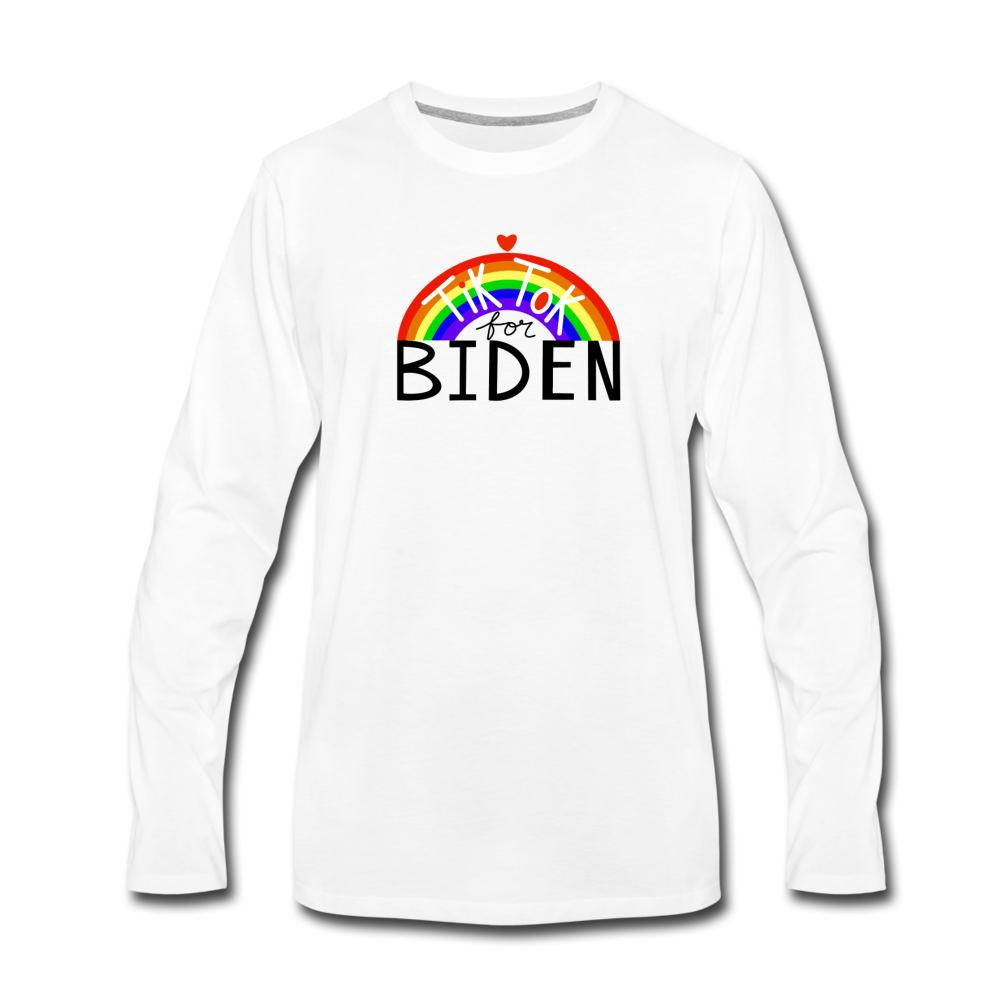 Load image into Gallery viewer, TikTok for Biden (Front/Back) - white