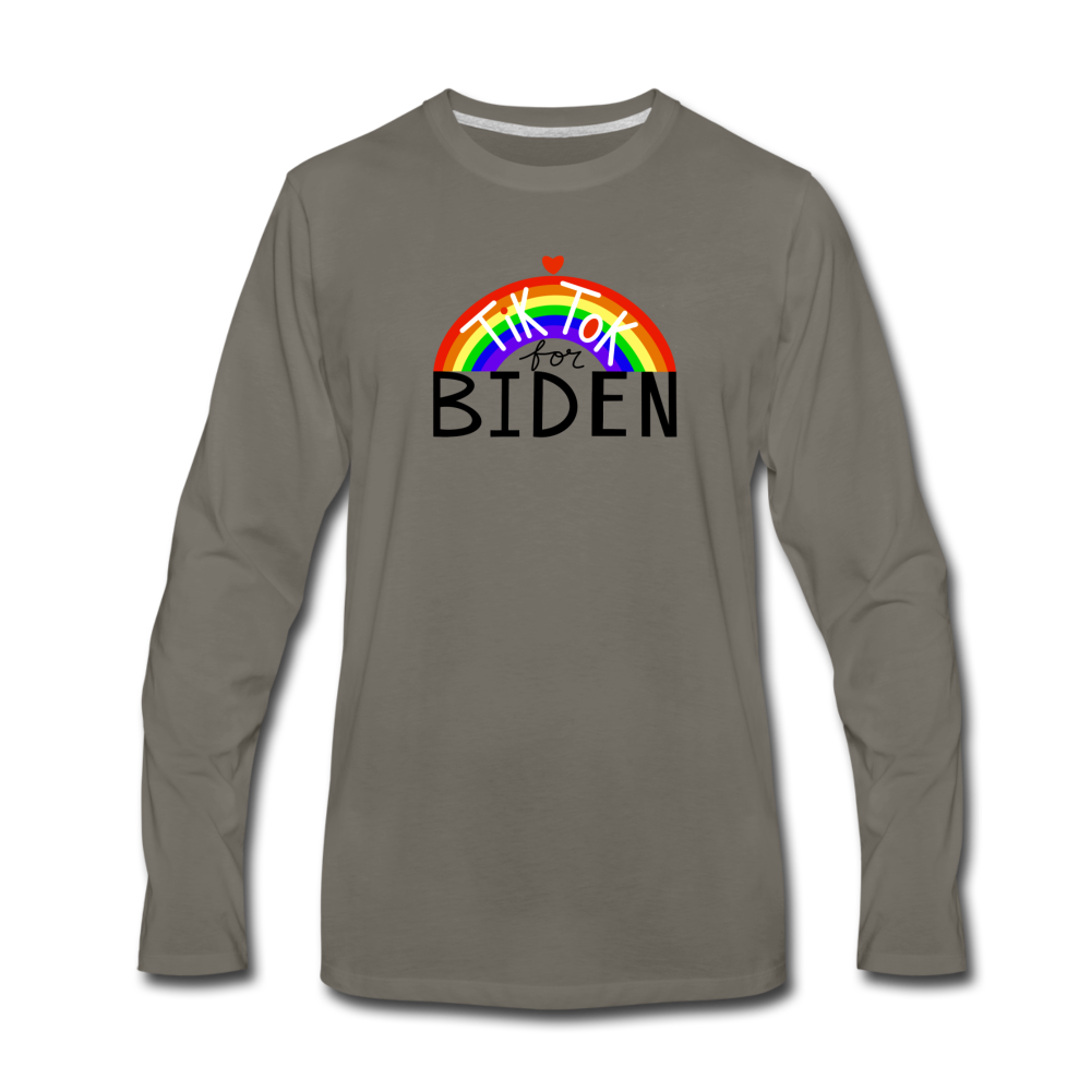 Load image into Gallery viewer, TikTok for Biden (Front/Back) - asphalt gray
