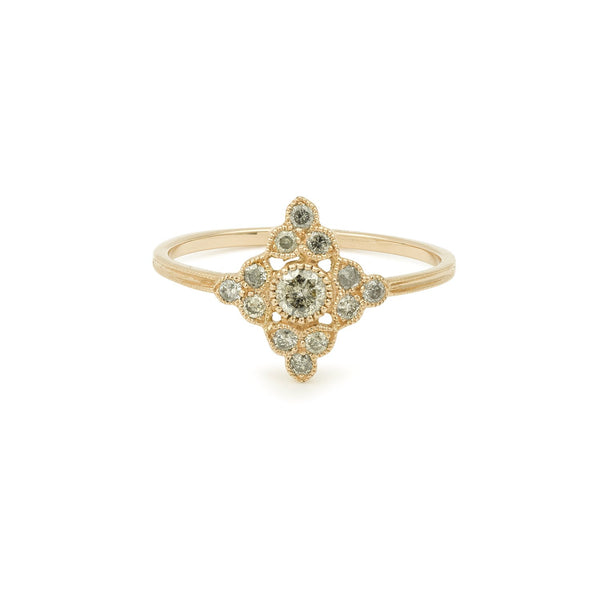 Bague Dentelle Myrtille Beck Paris - Diamants Galaxie