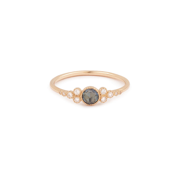 Bague Iris M Saphir mermaid