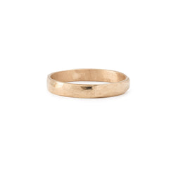 Bague - Alliance Juno L Or Rose - Alliance de créateur piour homme Myrtille Beck Paris