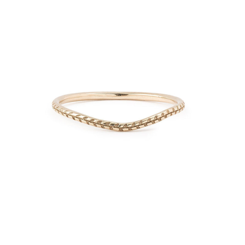 Bague - Alliance Cybèle Curve Or rose