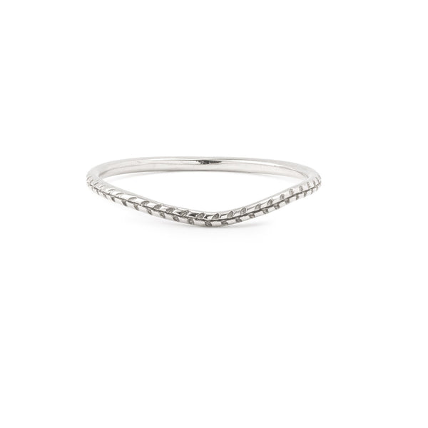 Bague - Alliance Cybèle Curve Or Gris