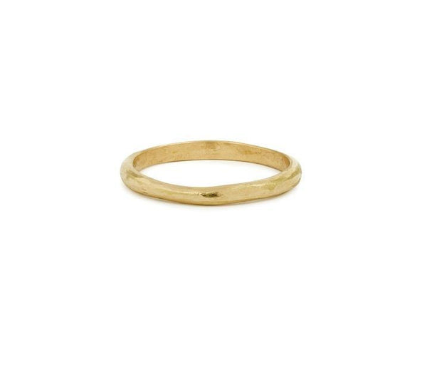 Bague - Alliance Wilde S or rose, Myrtille Beck, alliance de créateur pour homme, Paris