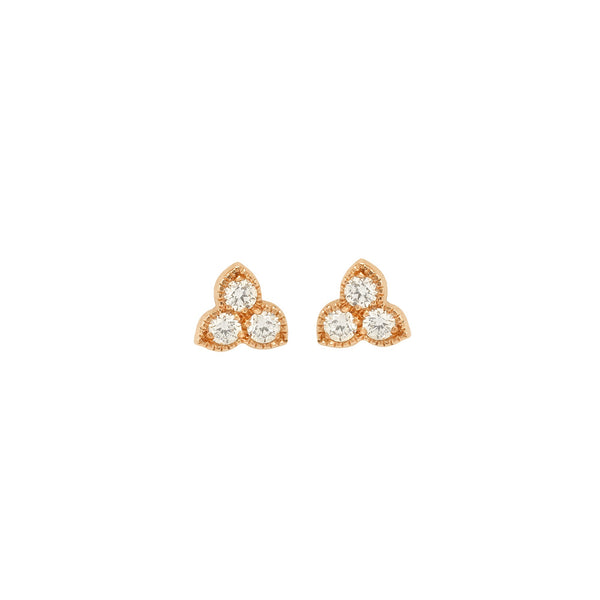 Boucles d'oreilles Flora Diamants